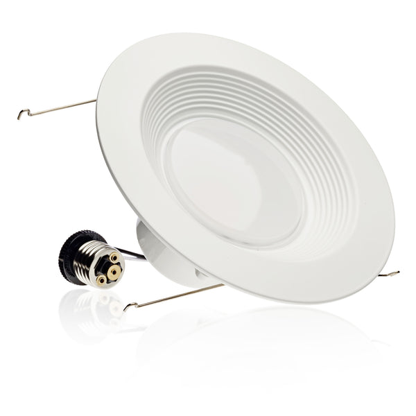5/6-inch LED Baffle Downlight, 16W, 1200 Lm, Dimmable - LED Light Club