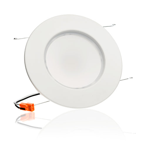 LED 14W = 95W 5/6 Inch. Smooth Round Retrofit Downlight UL & Energy Star Certified - LED Light Club