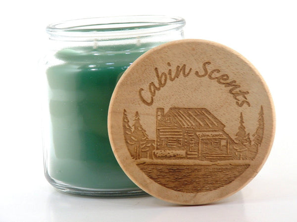 Cabin Scents 16oz Scented Jar Candle: Fresh Balsam (Pine)