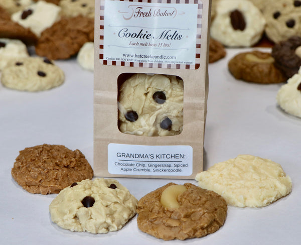 Cookie Melt Scented Wax Melts: Grandma's Kitchen