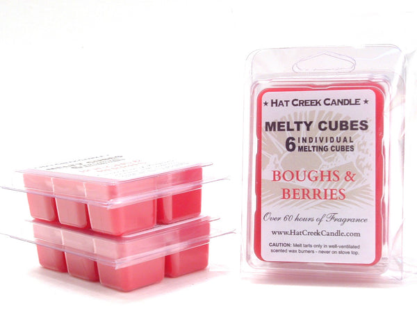 Melty Cube Scented Wax Melts 2pk: Boughs & Berries