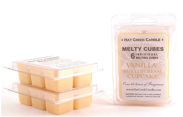 Melty Cube Scented Wax Melts 2pk: Buttercreme Cupcake
