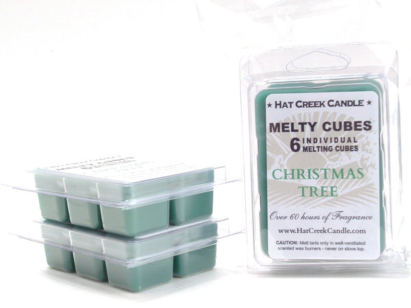 Melty Cube Scented Wax Melts 2pk: Christmas Tree