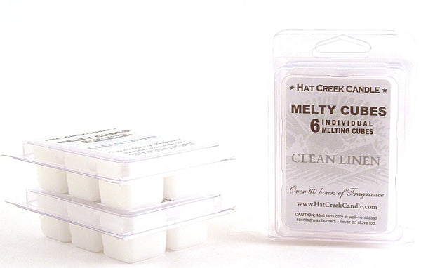 Melty Cube Scented Wax Melts 2pk: Clean Linen