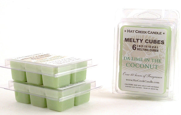 Melty Cube Scented Wax Melts 2pk: da Lime in the Coconut