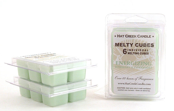 Melty Cube Scented Wax Melts 2pk: Energizing