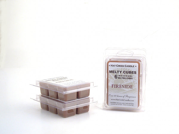 Melty Cube Scented Wax Melts 2pk: Fireside