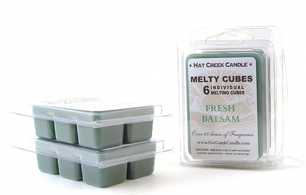 Melty Cube Scented Wax Melts 2pk: Fresh Balsam