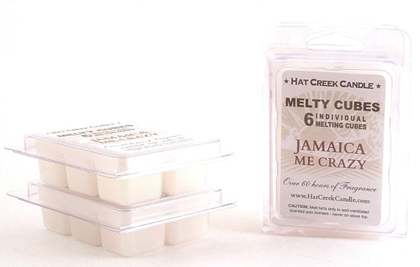 Melty Cube Scented Wax Melts 2pk: Jamaica Me Crazy