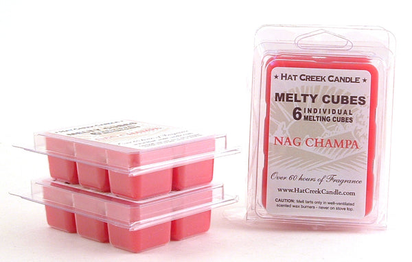 Melty Cube Scented Wax Melts 2pk: Nag Champa