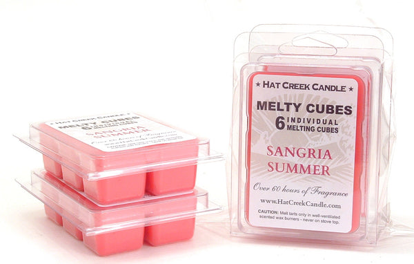 Melty Cube Scented Wax Melts 2pk: Sangria Summer