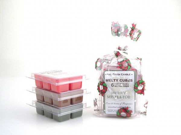 3pk Melty Cube Scented Wax Melts: Holiday Hearth & Home