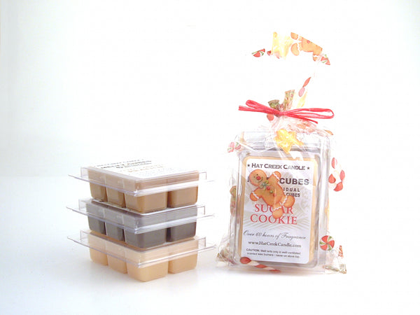 3pk Melty Cube Scented Wax Melts: Christmas Cookies