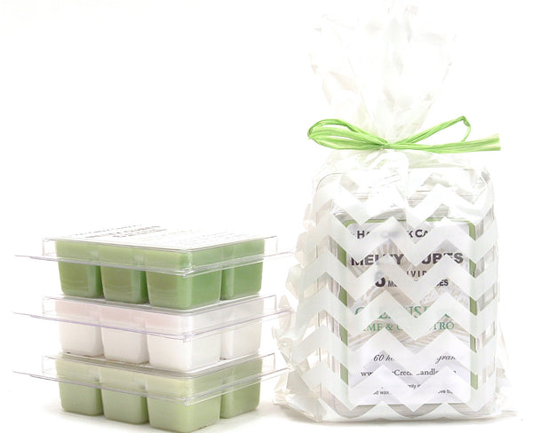 3pk Melty Cube Scented Wax Melts: Fresh & Clean