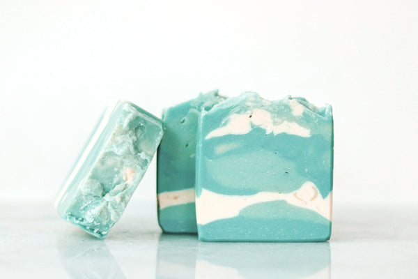 Artisan Soap: Blue Skies