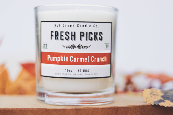 10oz October Fresh Picks: Pumpkin Caramel Crunch