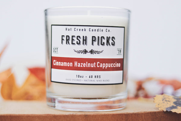 10oz October Fresh Picks: Cinnamon Hazelnut Cappuccino