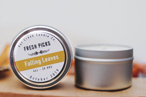 Travel Tin October Fresh Picks: Falling Leaves