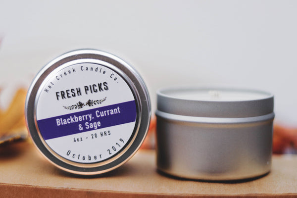 Travel Tin October Fresh Picks: Blackberry, Currant & Sage