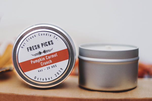 Travel Tin October Fresh Picks: Pumpkin Caramel Crunch