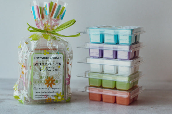 3pk Melty Cube Scented Wax Melts: Gardener's Delight - You pick the scents!