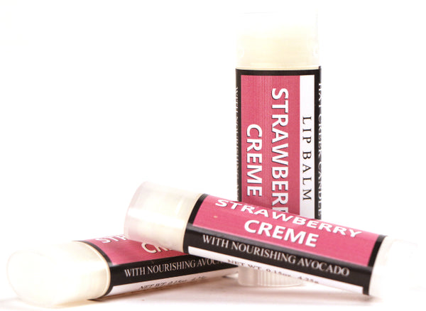 Lip Balm: Strawberry Creme