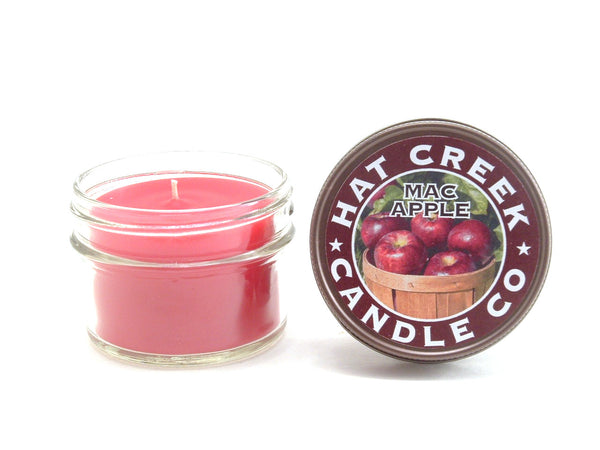 4oz Mini Mason Jar Candle: Mac Apple