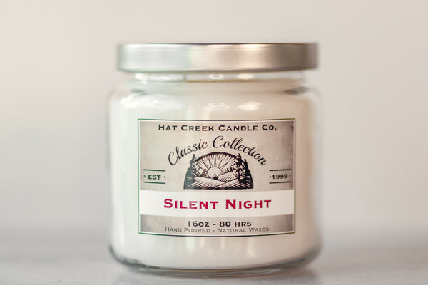 16oz Scented Jar Candle: Silent Night - Limited Seasonal!