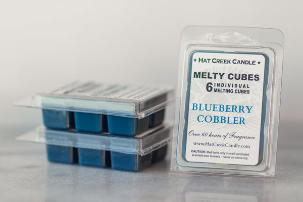 Melty Cube Scented Wax Melts 2pk: Blueberry Cobbler