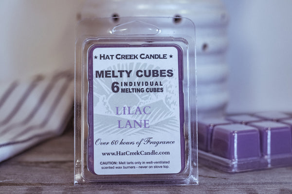 Melty Cube Scented Wax Melts 2pk: Lilac Lane