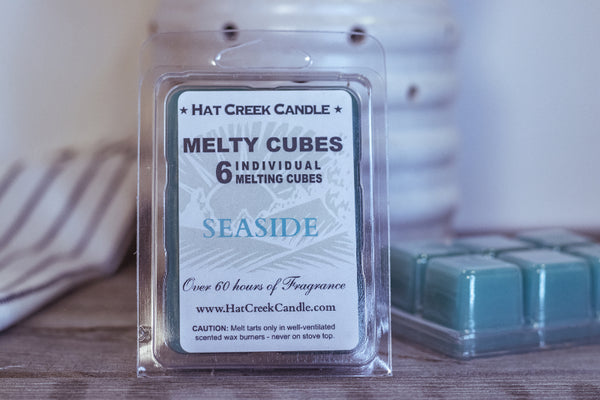 Melty Cube Scented Wax Melts 2pk: Seaside