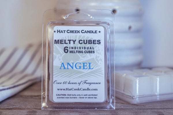 Melty Cube Scented Wax Melts 2pk: Angel