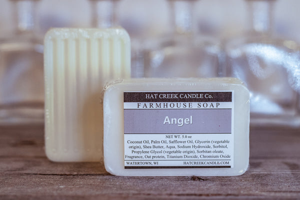 Farmhouse Glycerin Soap:  Angel - NEW!