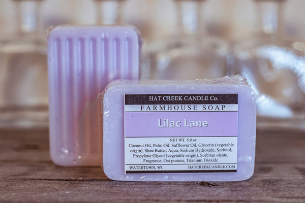 Farmhouse Glycerin Soap:  Lilac - NEW!