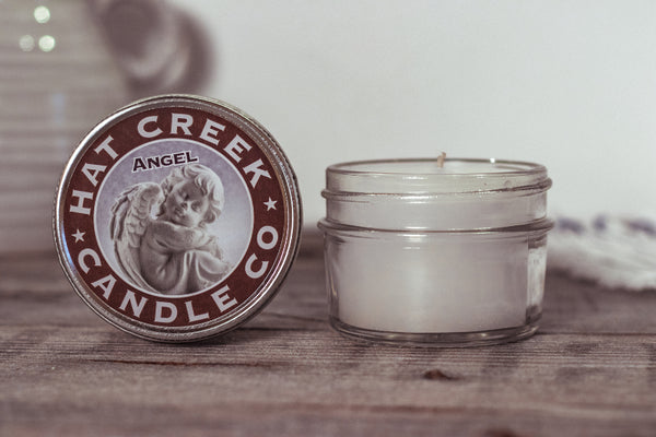 4oz Mini Mason Jar Candle: Angel