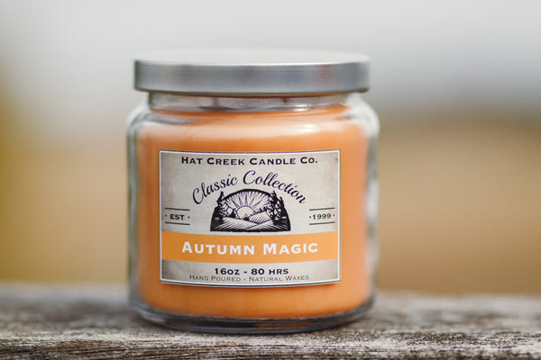 16oz Scented Jar Candle: Autumn Magic - NEW!