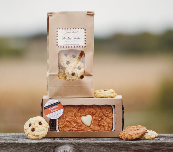 3 month GIFT Subscription Box: Bread Candle & Cookie Melt Combo