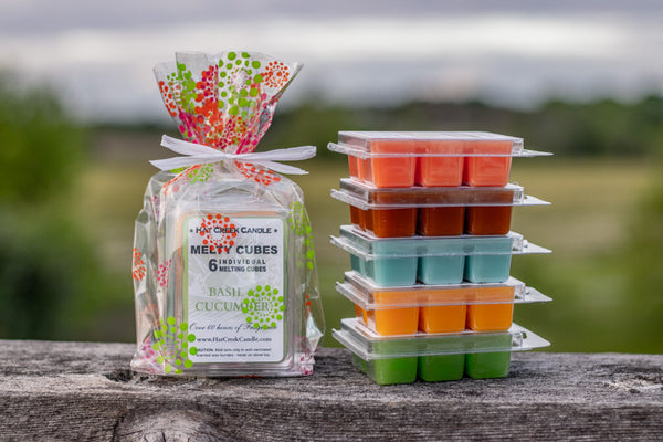 3pk Melty Cube Scented Wax Melts: Summer Fun - You pick the scents!