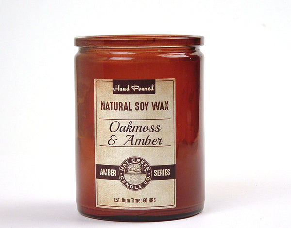 12oz Amber Collection Scented Jar Candle