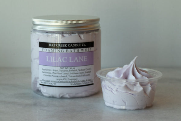 8oz Foaming Bath Whip Soap: Lilac Lane - NEW!
