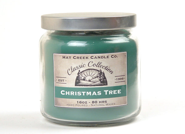 16oz Scented Jar Candle: Christmas Tree - Limited Seasonal!
