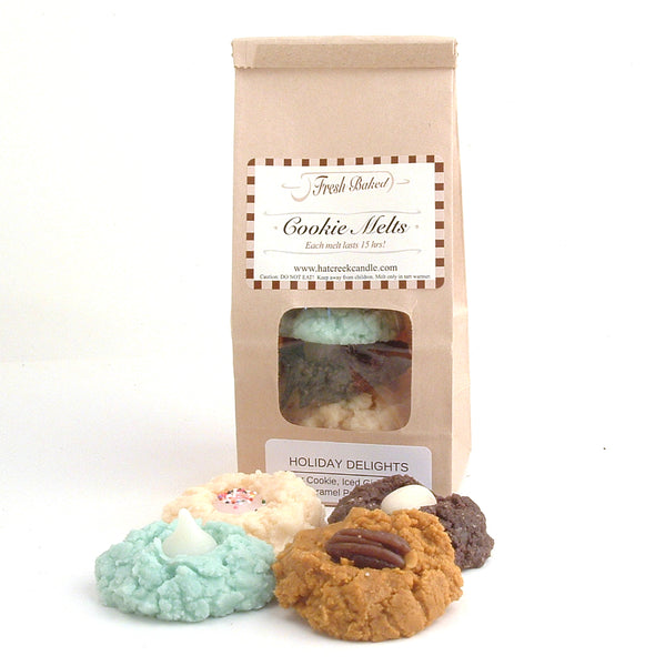 Cookie Melt Scented Wax Melts: Holiday Delights