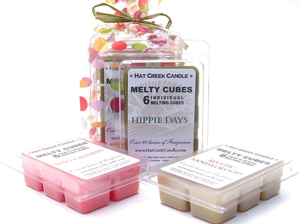 3pk Melty Cube Scented Wax Melts: Deep Thoughts