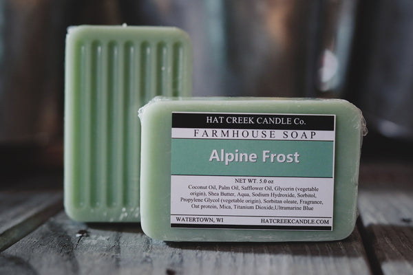 Farmhouse Glycerin Soap:  Alpine Frost