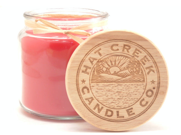16oz Scented Jar Candle: Mac Apple - Limited Seasonal!