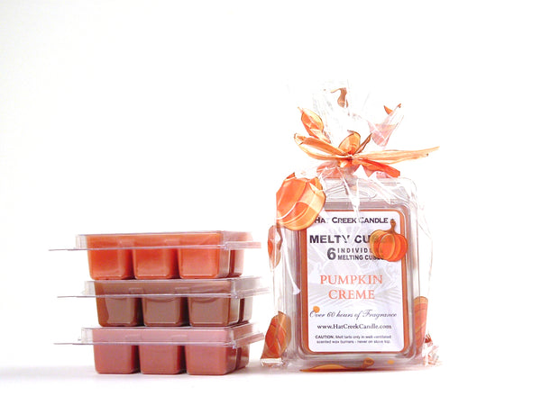3pk Melty Cube Scented Wax Melts: Pumpkin Patch