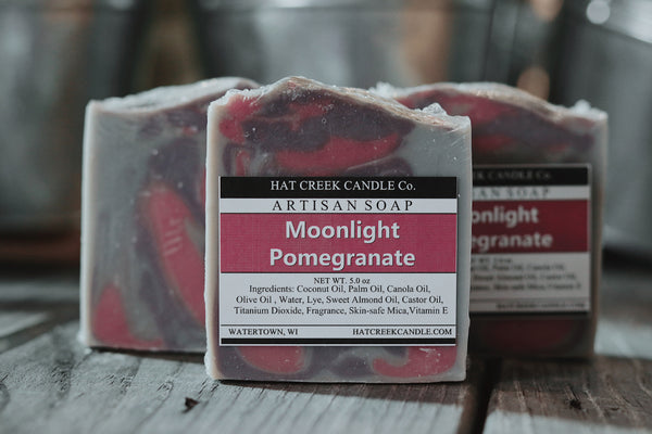 Artisan Soap:  Moonlight Pomegranate