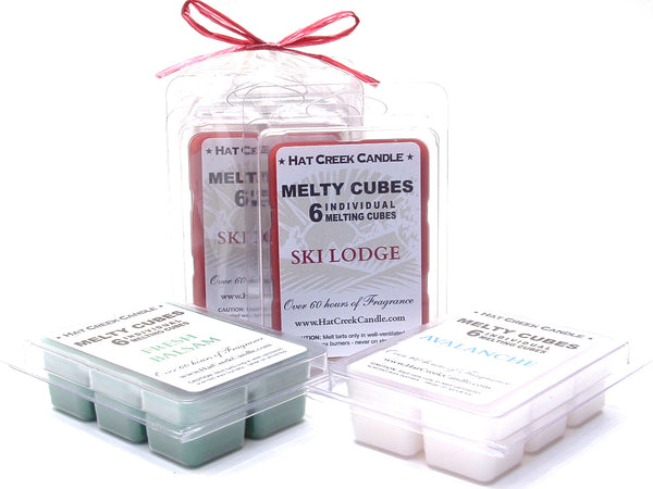 3pk Melty Cube Scented Wax Melts: Mountain Scent-sations