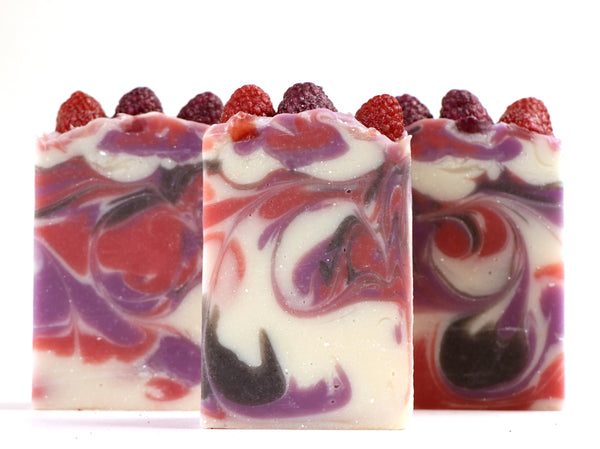 Artisan Soap:  Black Raspberry Vanilla