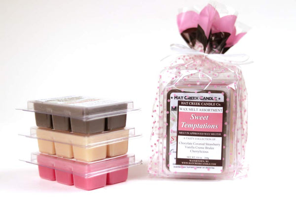 3pk Melty Cube Scented Wax Melts: Sweet Temptations II